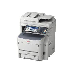 Oki MC760dn - Multifunksjonsskriver - farge - LED - A4 (210 x 297 mm) (original) - A4 (medie) - opp til 28 spm (kopiering) - opp til 28 spm (trykking)