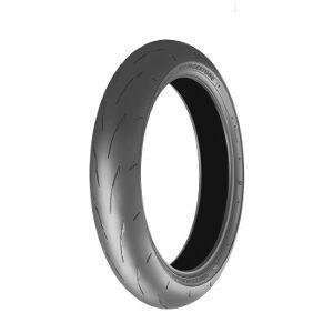 Bridgestone R 11 F ( 120/70 R17 TL 58V M/C, Gummiblanding SOFT, forhjul )