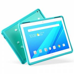 Lenovo Original Lenovo Tab 4 10 Plus Kids Pack w. Shock Proof Bumper Cover Mint Grøn
