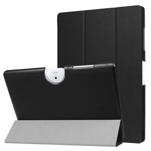 Acer Iconia One 10 B3-A40 Deksel - Tri-Fold Skinndeksel Med Stativfunksjon - Svart