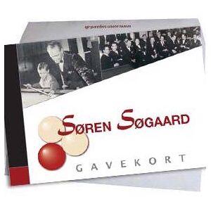 Kr. 750,- gavekort t/ Søren Søgaard A/S