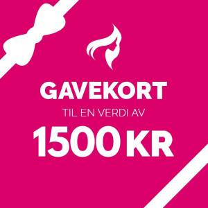 Gavekort – 1500,-