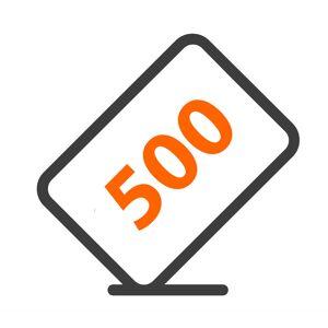 AVshop Gavekort AVshop 500.-