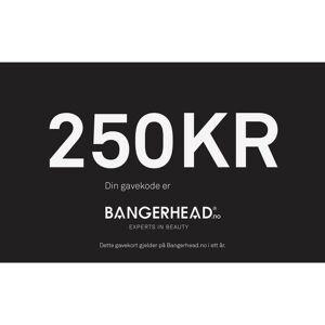 Bangerhead Accessories Bangerhead Gavekort 250 kr