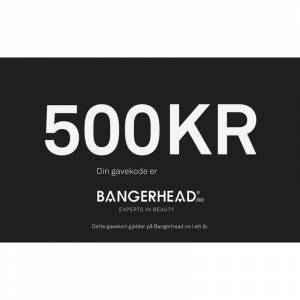 Bangerhead Accessories Bangerhead Gavekort 500 kr