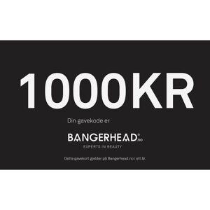 Bangerhead Accessories Bangerhead Gavekort 1000 kr