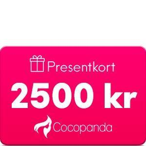 Gavekort Presentkort - 2500 kr