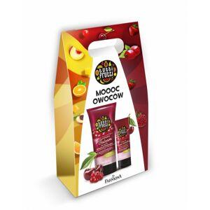 Tutti Frutti Cherry & Currant Body Balm & Hand Cream Set 200 ml + 75 ml Presentask