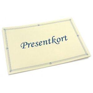Presentkort (300)