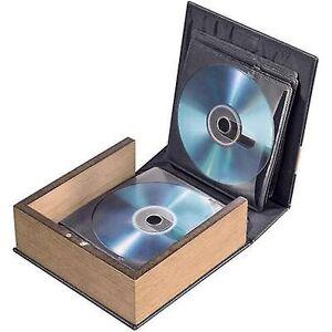 Hama CD & foto CD album 28 CDer/DVDer/Blu-stråler skinn brown (matt) 1 eller flere PCer (B x H x D) 163 x 170 x 63 mm 78385