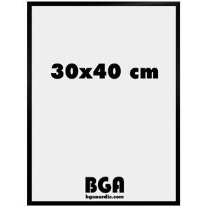 BGA Nordic New Lifestyle Pleksiglass Svart 30x40 cm