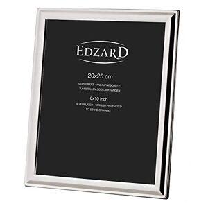 EDZARD fotoram Terni, silverpläterad, fläckskyddad, för foto 20,1 x 24,8 cm