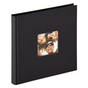 BGA Nordic Fun Album Svart - 18x18 cm (30 Svarta sidor / 15 blad)