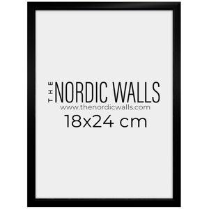 BGA Nordic New Lifestyle Black 18x24 cm