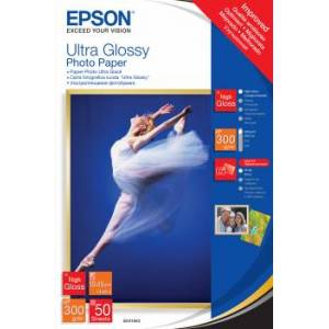 Epson 10x15cm Ultra Glossy Photo Paper 50 Ark