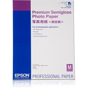 Epson A2 Premium Semigloss Photo Paper 25 ark