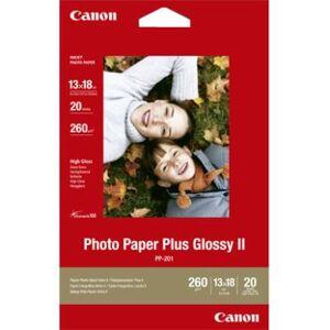Canon Fotopapir Glossy Plus 13x18 20 ark 260g PP-201 Tilsvarer: N/A