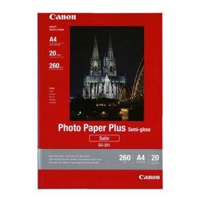 Canon Fotopapir Semigloss A4 20 ark 260g SG-201A4 Tilsvarer: N/A