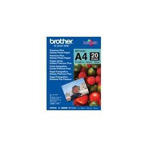 Brother Fotopapir BROTHER BP71 gloss A4 260g(20