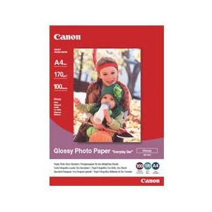 Canon 0775B001 Canon Papir GP-501 A4 Glossy Photo Paper Everyday Use 210g 100stk