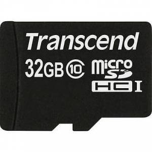 Transcend Overskride Premium microSDHC kort 32 GB klasse 10
