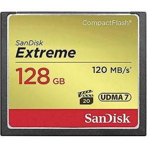 SanDisk Extreme® CompactFlash-kort 128 GB