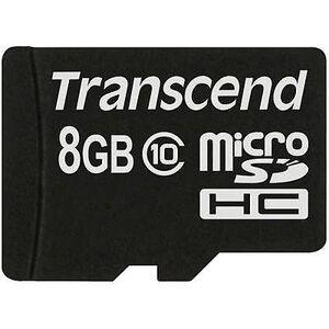 Transcend Overskride Premium microSDHC kort 8 GB klasse 10