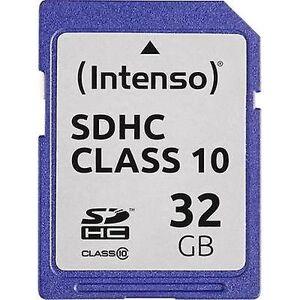 Intenso 3411480 SDHC card 32 GB klasse 10
