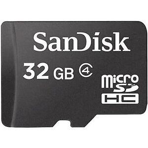 SanDisk SDSDQM-032G-B35 microSDHC kort 32 GB klasse 4