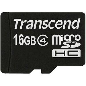 Transcend Overskride Standard microSDHC kort 16 GB klasse 4