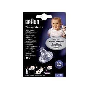 Braun Thermoscan Lens Filters 40 stk