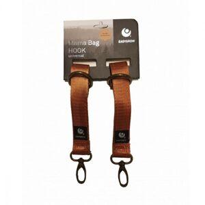 Easygrow, Mama bag Hooks, real leather brown
