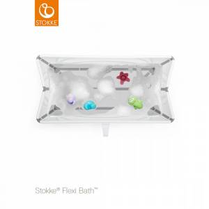 Stokke, Flexi Bath Bundle m/temp.indikator, White