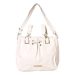 Mayoral Beige Changing Bag with Bow Detail