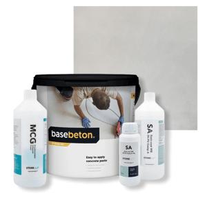 Basebeton Microcement Gulv Set -  10kg,  Dawn