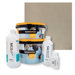 Basebeton Microcement Komplet Set 5kvm -  Mat,  Sisal
