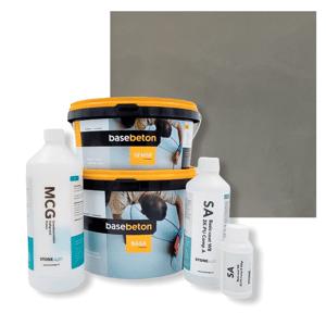 Basebeton Microcement Komplet Set 30kvm -  Satin,  Stone