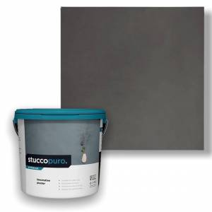 Basebeton Stuccopuro Betonlook Spartel 4kg/9kwm -  Sp02 Olio