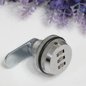 Code Combination Keyless Cam Lock For Caravans Furniture Cabinet Wardrobe USEFUL