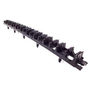 Leggeskinne 1 meter, til 16, 17 og 20mm rør