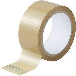 TOOLCRAFT 93038c181 93038c181 Emballasje tape Brun (L x B) 50 m x 48 mm 3 stk(er)