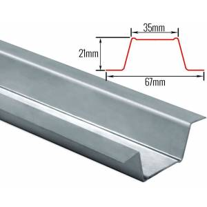 DreamScreen ProSilence Furring Channel for Wall and Ceiling Detachment 2m