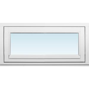 SP Fönster Fönster Villa 780x380mm överhängt 1-luft 2-glas isoler utåt  (8x4)