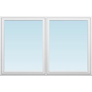 SP Fönster Fönster Villa 1980x1280mm  2-luft 2-glas isoler utåt  (20x13)