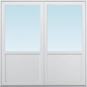SP Fönster Altandörr Balans  1880x1880/1180mm vänster par alu 3-glas linjerar öppningsbart   (19x19)