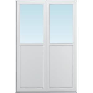 SP Fönster Altandörr Balans  1580x2380/1180mm vänster par alu 3-glas linjerar fast   (16x24)