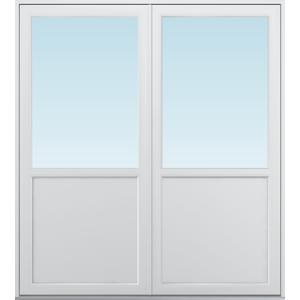 SP Fönster Altandörr Balans  1780x1980/1180mm vänster par alu 3-glas linjerar fast   (18x20)