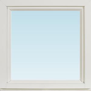 SP Fönster Fönster Balans 480x480mm fast alu 3-glas isoler  (5x5)