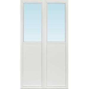 SP Fönster Altandörr Intakt  1280x2380/1180mm  vänster inåt par 3-glas isoler linjerar öppningsbart (13x24)