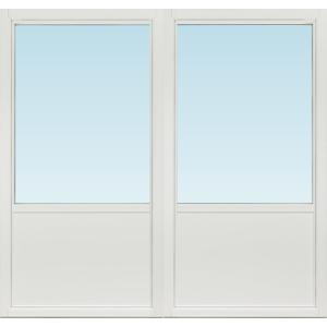 SP Fönster Altandörr Intakt  1880x1780/1180mm  vänster inåt par 3-glas isoler linjerar öppningsbart (19x18)